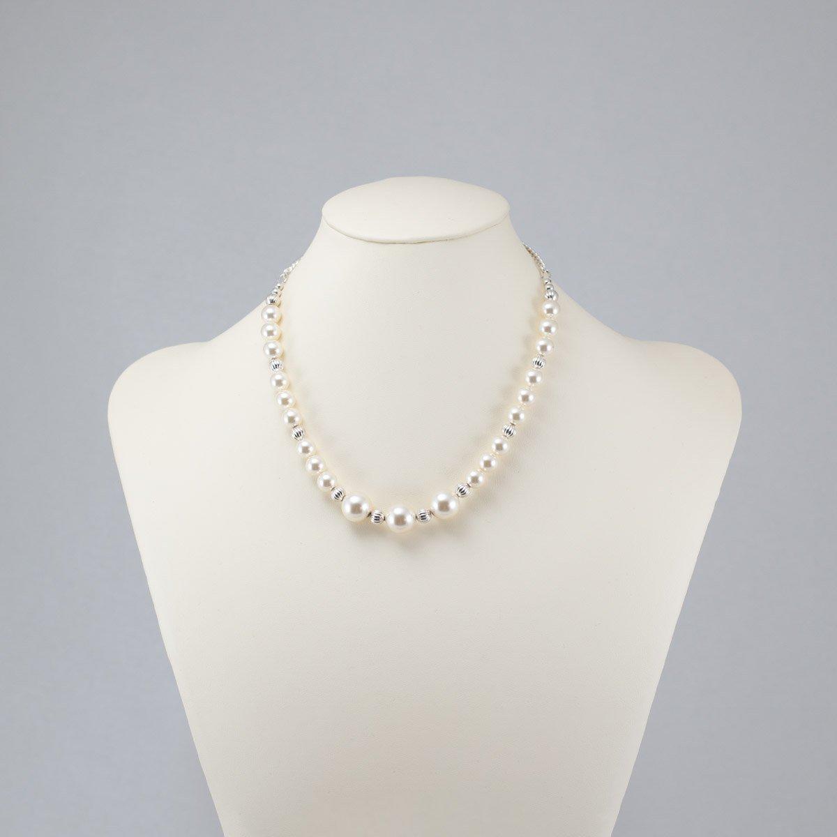 Collar de perlas Swarovski