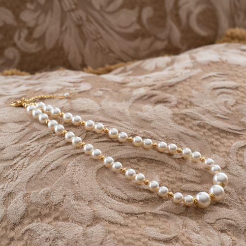 Collar de perlas Swarvoski